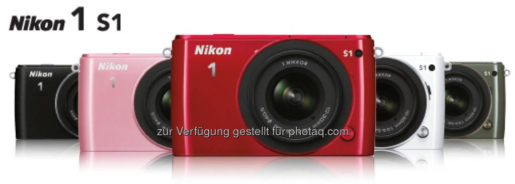 Nikon 1 S1 - Einstiegsmodell in die Welt der kompakten Nikon-Systemkameras (09.01.2013)