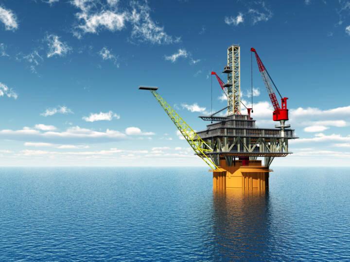 Bohrinsel, Öl, Ölindustrie, Erdöl, Meer, Rohstoff, Industrie, http://www.shutterstock.com/de/pic-196423016/stock-photo-oil-platform-computer-generated-d-illustration.html?