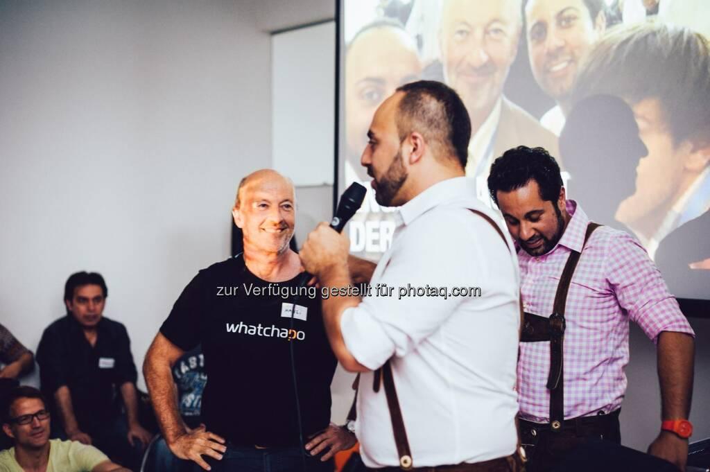Hansi Hansmann, Ali Mahlodji, Jubin Honarfar ©Dominik Vsetecka Photography (09.07.2014)