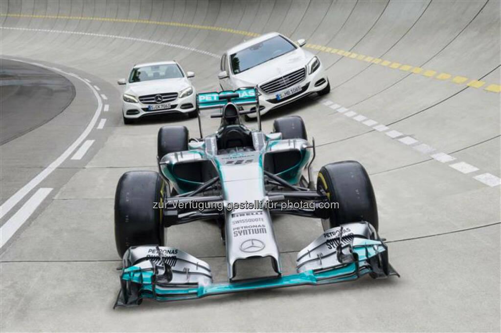 Daimler AG: Synergien zwischen Formel-1- und Serienentwicklung, © Aussendung (09.07.2014)