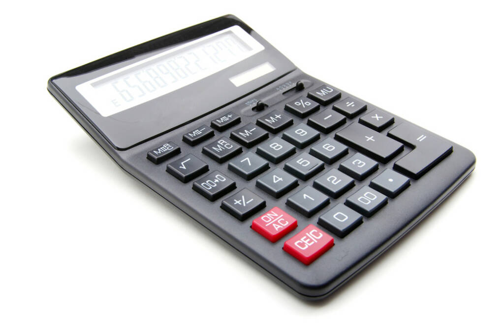 Taschenrechner, http://www.shutterstock.com/de/pic-77851801/stock-photo-pocket-calculator-on-a-white-background.html  (10.07.2014)