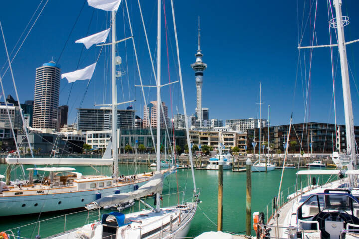 Auckland, Neuseeland, Hafen, http://www.shutterstock.com/de/pic-81055744/stock-photo-auckland-waterfront.html