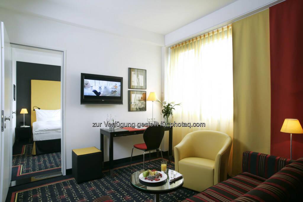 Warimpex verkauft Anteil am angelo Hotel München sowie benachbartes Bauland - hier im Bild: Angelo München Suite (c) Warimpex (10.01.2013)