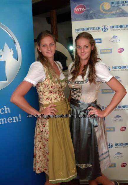 Karolina &amp; Kristyna Pliskova Dirndl, &copy;  <a href=