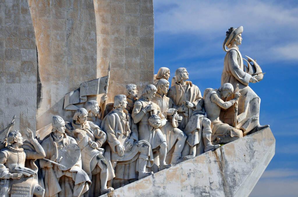 Portugal, Lissabon, Denkmal der Entdeckungen, http://www.shutterstock.com/de/pic-123910600/stock-photo-monument-to-the-discoveries-lisbon.html (Bild: shutterstock.com) (11.07.2014)