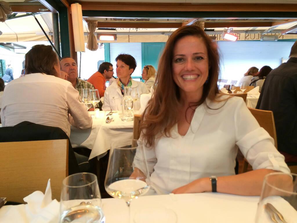mit Milena Ioveva (Porr AG) im Nautilus am Naschmarkt (11.07.2014)