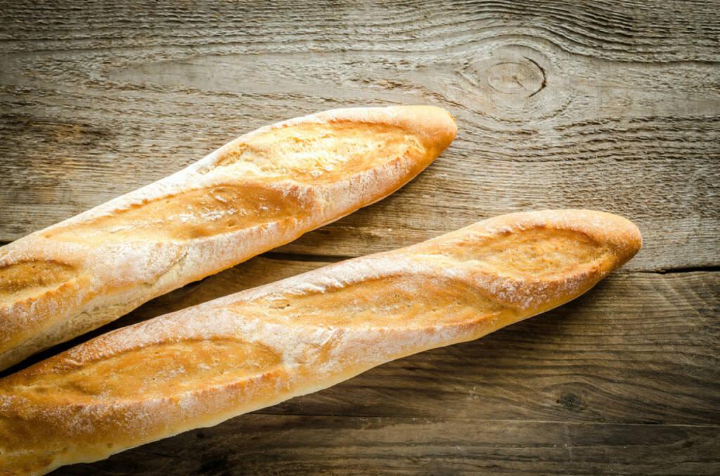 Baguette, Frankreich, food, Brot, http://www.shutterstock.com/de/pic-183908114/stock-photo-two-baguettes.html , © www.shutterstock.com (13.07.2014)