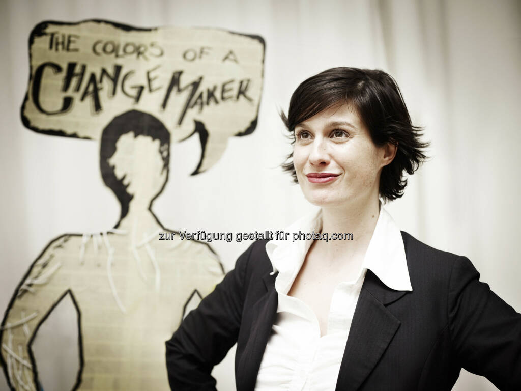 Marie Ringler, Ashoka, präsentiert im Jänner neue Fellows (c) David Payr (11.01.2013)