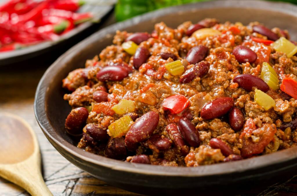 Chilli con carne, Mexiko, scharf, http://www.shutterstock.com/de/pic-130283174/stock-photo-chili-con-carne.html , © www.shutterstock.com (14.07.2014)