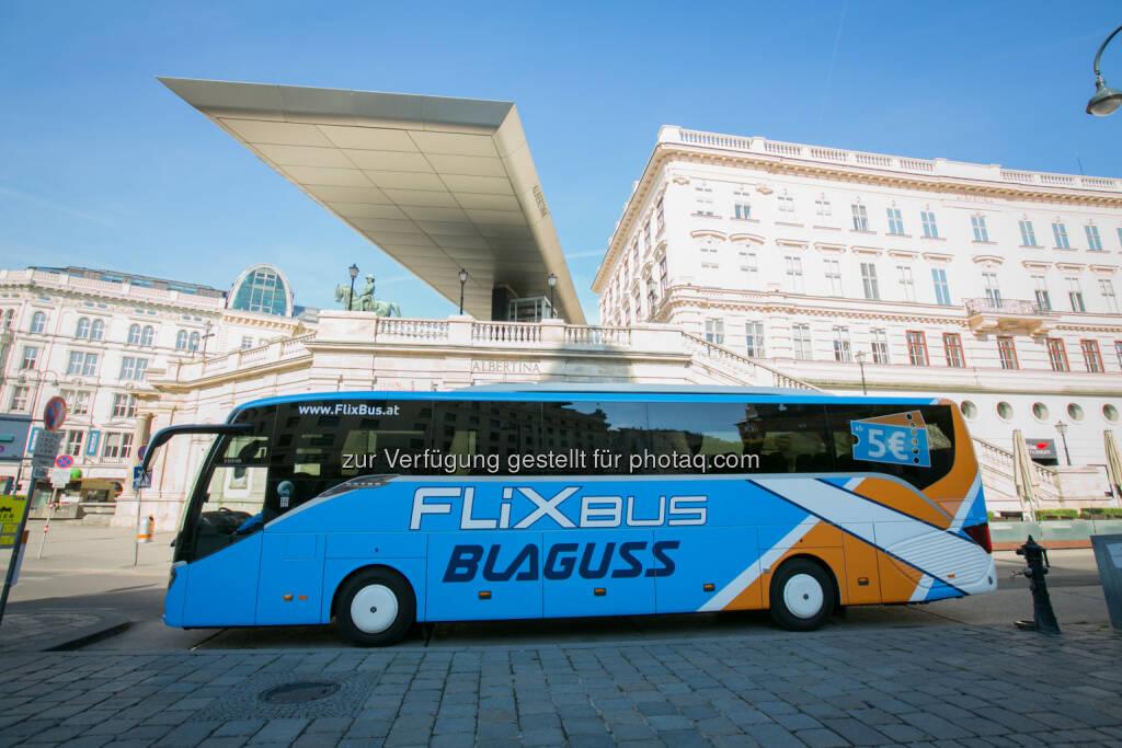 FlixBus, Deutschlands Testsieger bei Fernbusreisen, und Blaguss, Österreichs Experte im Linienverkehr, schließen sich für die größte deutsch-österreichische Fernbuskooperation auf www.FlixBus.at zusammen. (15.07.2014)