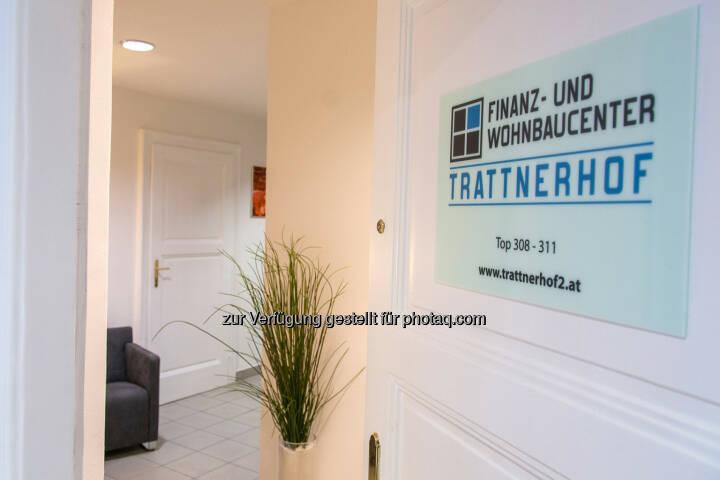 Finanz- und Wohnbaucenter Trattnerhof eröffnet: Eingangsbereich Finanz- und Wohnbaucenter Trattnerhof 2