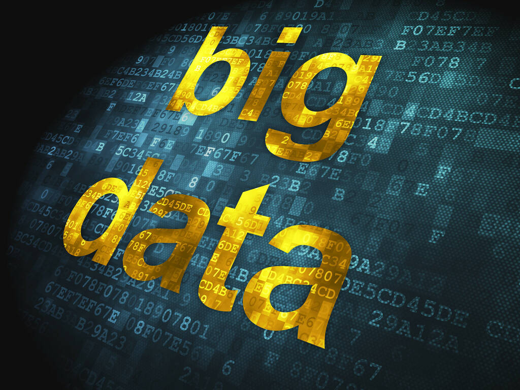 Big Data, Code, Digital, http://www.shutterstock.com/de/pic-130670039/stock-photo-information-concept-pixelated-words-big-data-on-digital-background-d-render.html (18.07.2014)