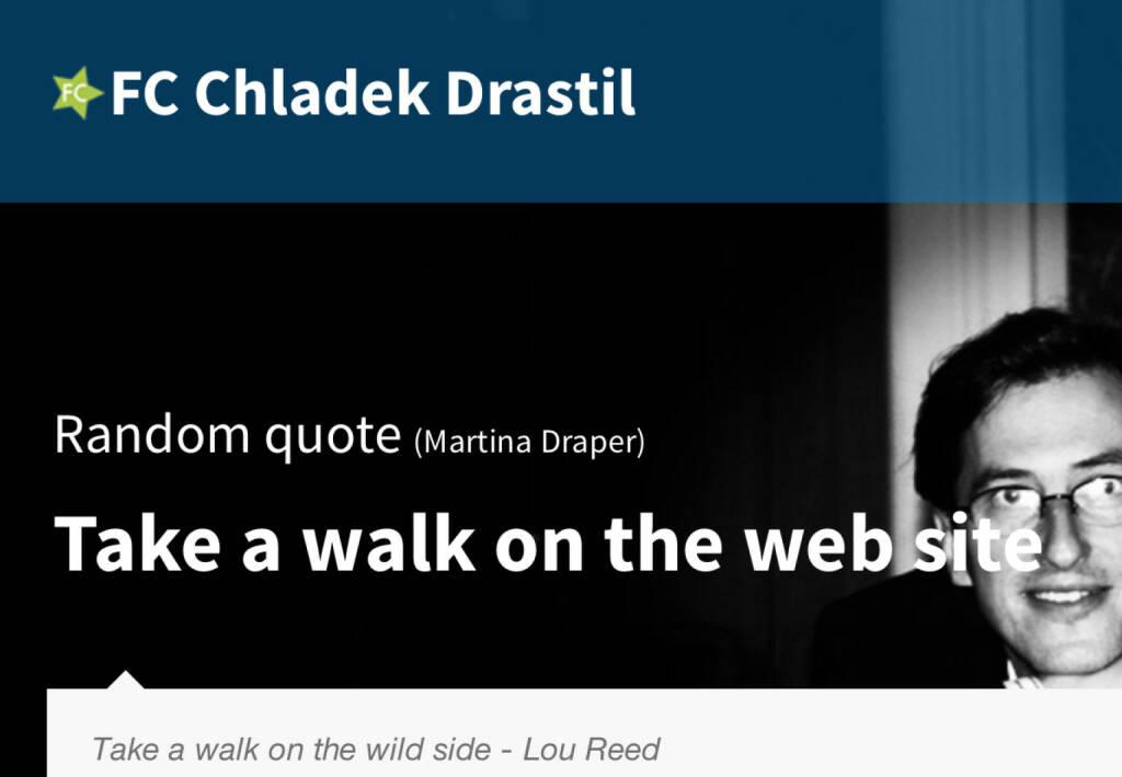 Take a walk on the web site (18.07.2014)