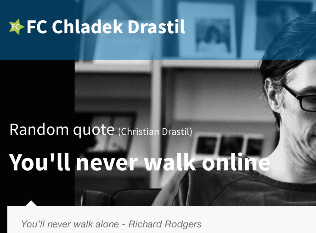 You`ll never walk online (18.07.2014)
