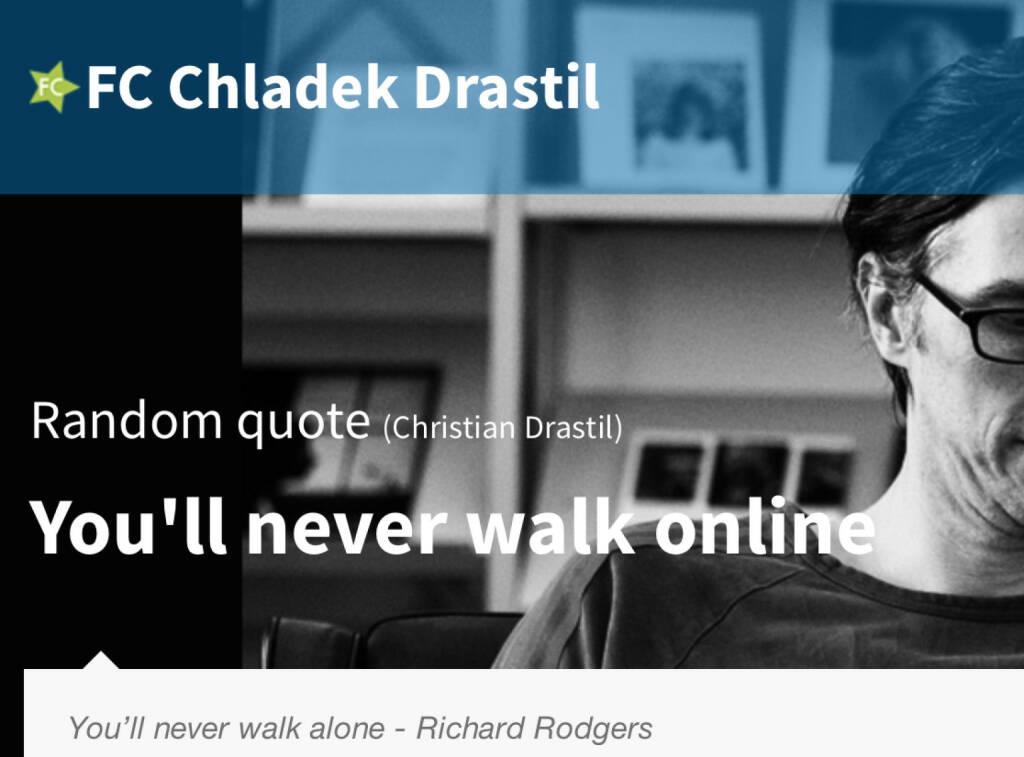 You`ll never walk online (18.07.2014)