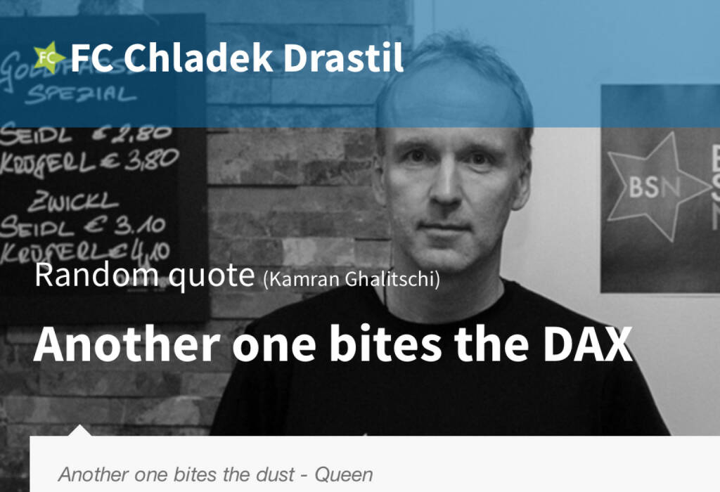 Another one bites the DAX (18.07.2014)