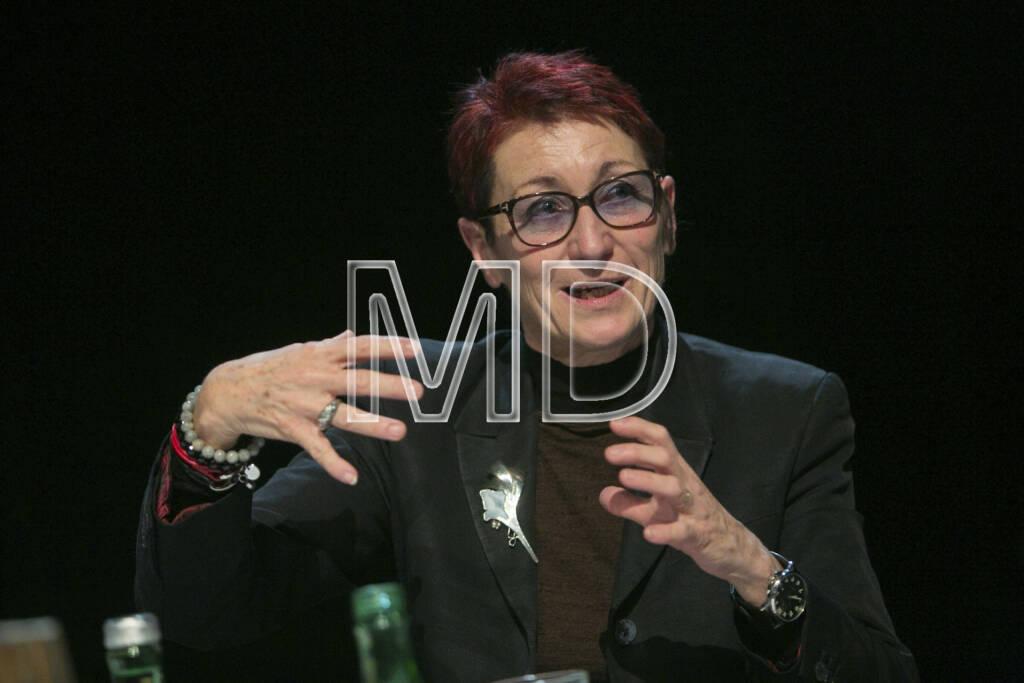 Heidi Schrodt (Vorsitzende Bildung Grenzenlos), © Martina Draper (11.01.2013)
