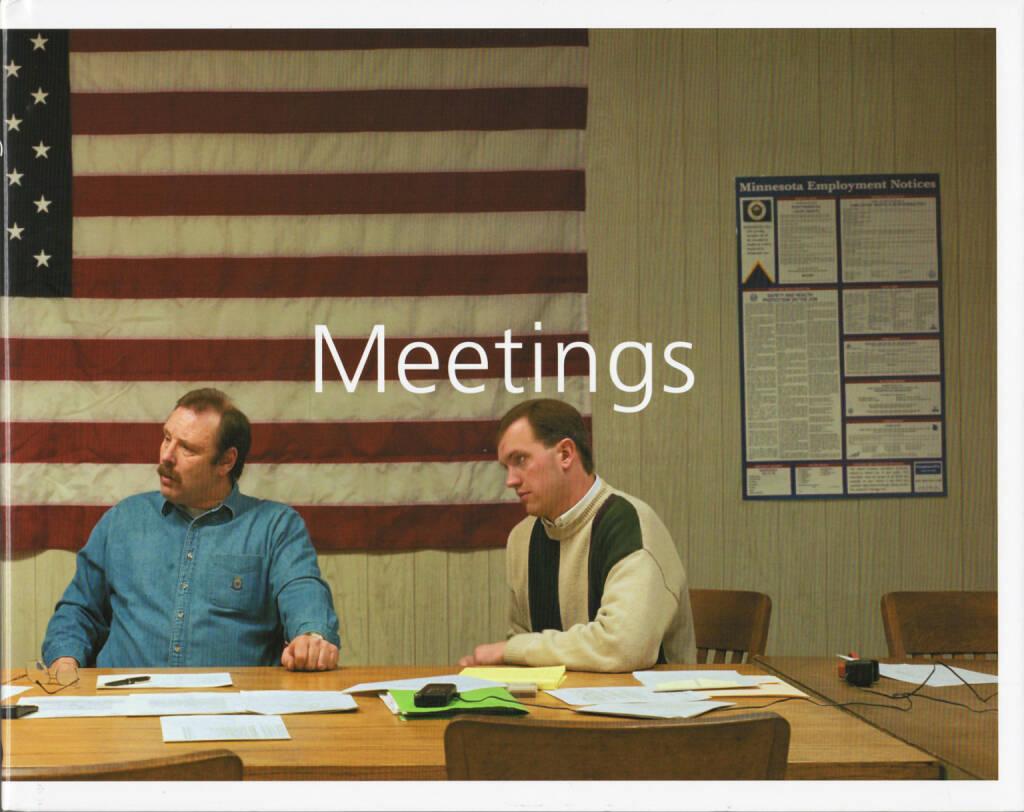 Paul Shambroom - Meetings, Chris Boot, 2004, Cover, http://josefchladek.com/book/paul_shambroom_-_meetings, © (c) josefchladek.com (19.07.2014)