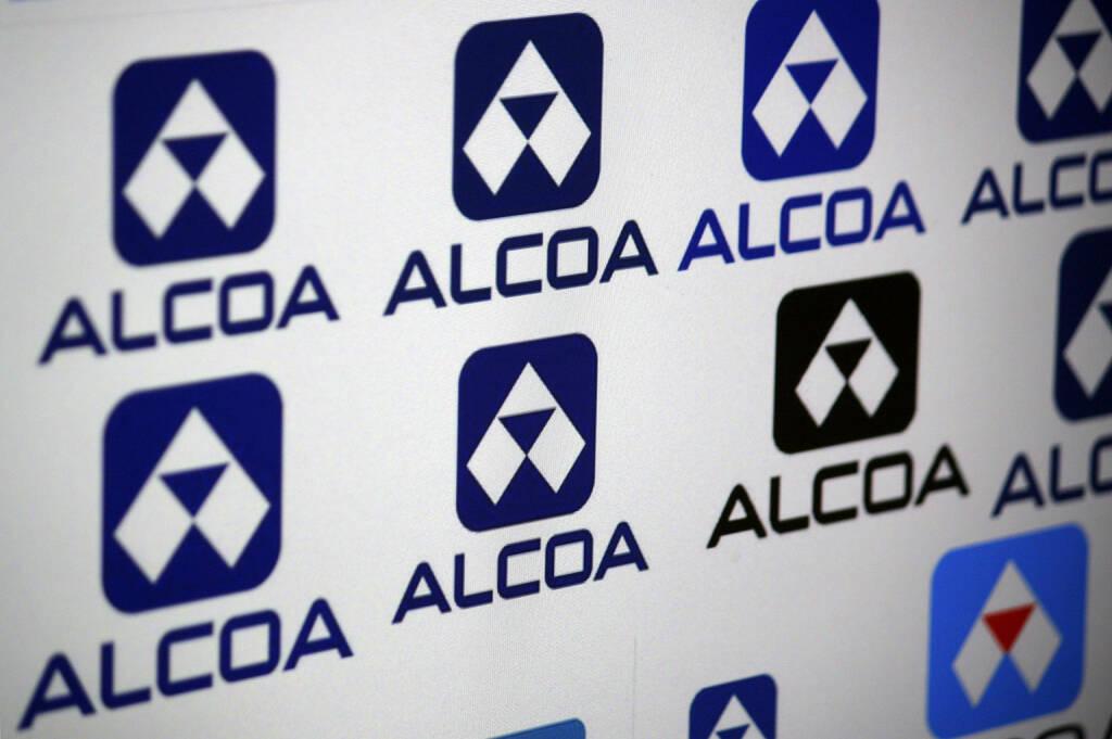 Alcoa, Logo, <a href=http://www.shutterstock.com/gallery-320989p1.html?cr=00&pl=edit-00>360b</a> / <a href=http://www.shutterstock.com/?cr=00&pl=edit-00>Shutterstock.com</a> (20.07.2014)