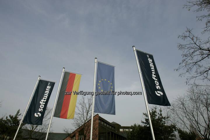 Software AG, Flaggen, EU, Deutschland, Quelle: http://www.softwareag.com/de/press/downloads/logos/default.asp