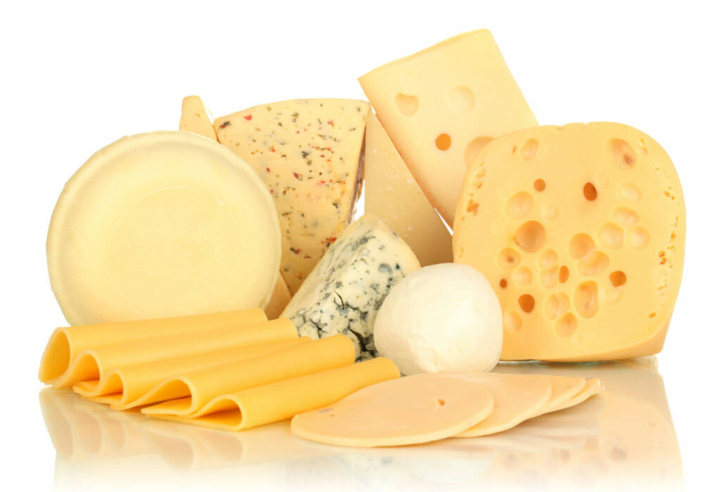 Käse, Milchprodukt, http://www.shutterstock.com/de/pic-123258430/stock-photo-various-types-of-cheese-isolated-on-white.html , © www.shutterstock.com (25.07.2014)