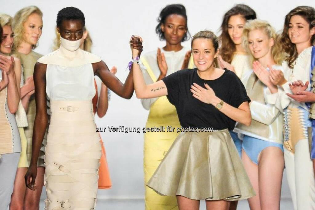Nixe Berlin Fashion Week mit Marina Hörmanseder © Daniele Oberrauchd (zur Verfügung gestellt von Nixe) (26.07.2014)