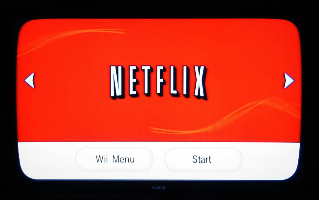 Netflix, Wii Menu, Start <a href=http://www.shutterstock.com/gallery-79405p1.html?cr=00&pl=edit-00>Annette Shaff</a> / <a href=http://www.shutterstock.com/?cr=00&pl=edit-00>Shutterstock.com</a> (27.07.2014)