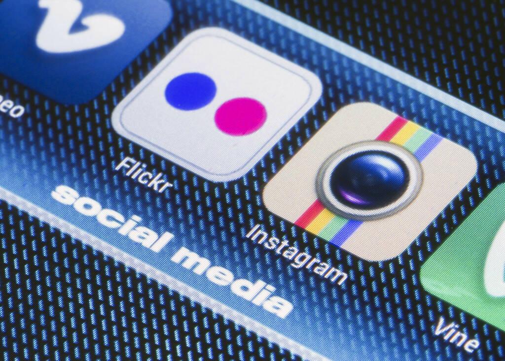Flickr, vimeo, Instagram, vine, Social Media <a href=http://www.shutterstock.com/gallery-795697p1.html?cr=00&pl=edit-00>Quka</a> / <a href=http://www.shutterstock.com/?cr=00&pl=edit-00>Shutterstock.com</a> (28.07.2014)