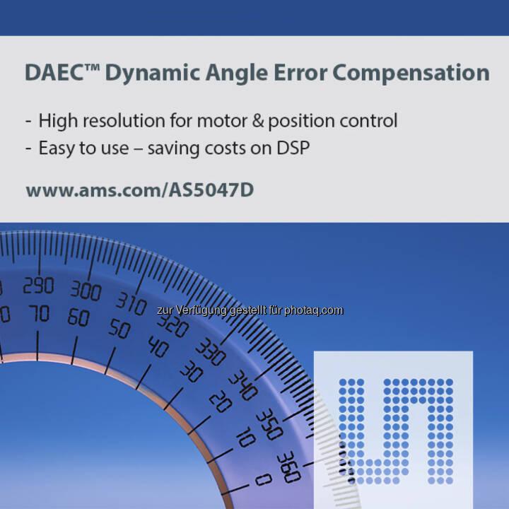 ams Magnetic Position Sensor, austriamicrosystems (Bild: ams)