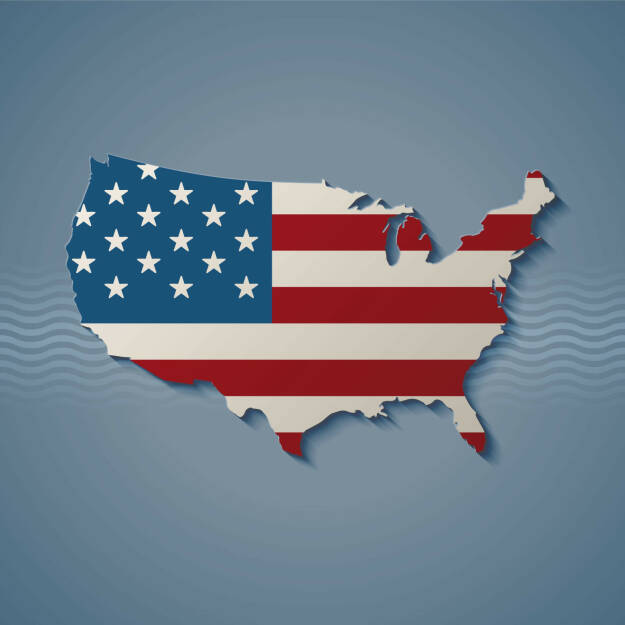 USA, Flagge, Land, Stars and Stripes - http://www.shutterstock.com/de/pic-171180743/stock-vector-united-states-eps-vector.html, © www.shutterstock.com (21.09.2018)