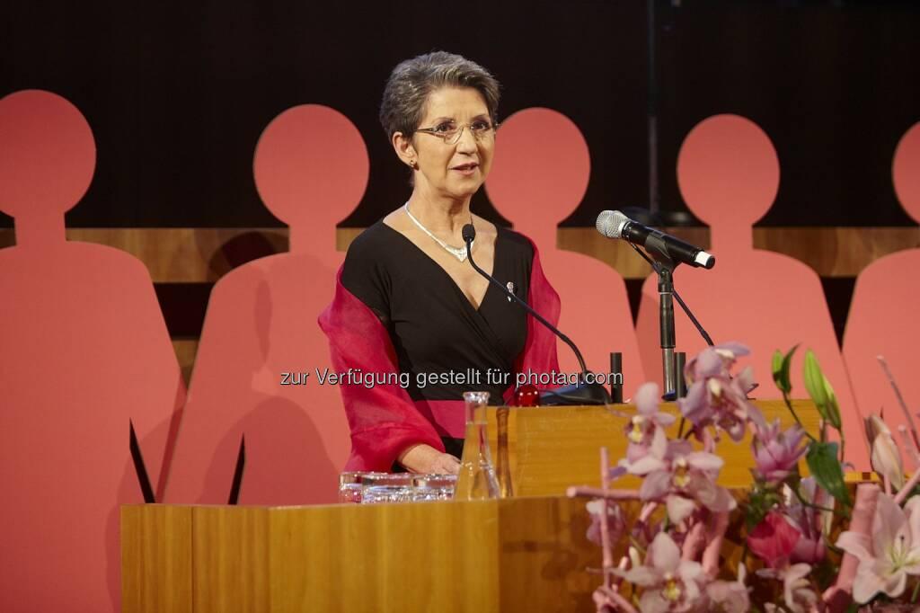 Österreichische Krebshilfe: Krebshilfe trauert um Nationalratspräsidentin Barbara Prammer (c) Parlamentsdirektion/Zolles Franz, © Aussender (04.08.2014)