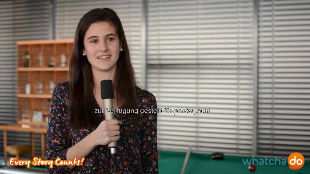 """In meiner Lehrausbildung lerne ich den wirtschaftlichen Betrieb kennen und kann in verschiedene Abteilungen reinschauen. -Alina Marmo #Apprentice Microsoft http://bit.ly/WpWT75 #storytelling #EveryStoryCounts #whatchaSWISS """"Bleib immer motiviert, auch wenn's dir im Moment nicht so passt oder gefällt!"""" rät Alina Marmo, Apprentice im ersten Lehrjahr bei Microsoft Schweiz, ihrem 14-jährigen Ich. Dabei darf sie in sechs verschiedene Abteilungen reinschnuppern. Die größte Herausforderung für sie ist, """"die Schule und die Ar… Source: http://twitter.com/whatchado, © whatchado (04.08.2014)"""