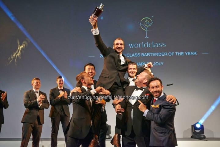 Diageo Deutschland GmbH: Der Weltmeister der Barkeeper 2014 steht fest: Charles Joly aus den USA gewinnt Diageo Reserve World Class Global Finals in London.
