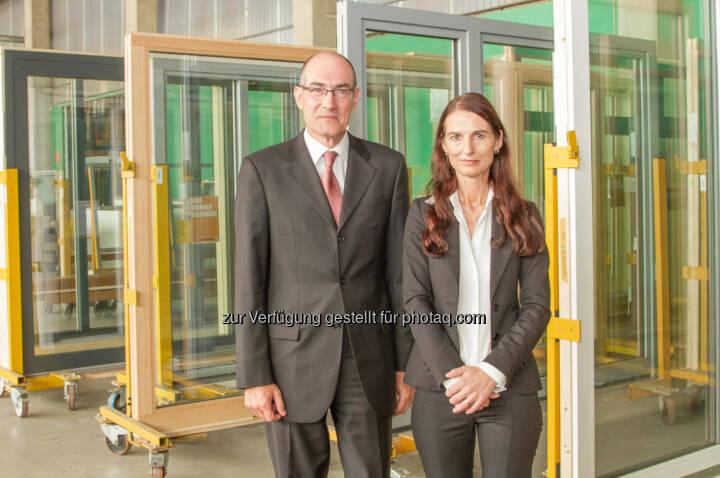Neue Geschäftsführung in der Gaulhofer Industrieholding: Josef Kleebinder und  Brigitte Deichstätter