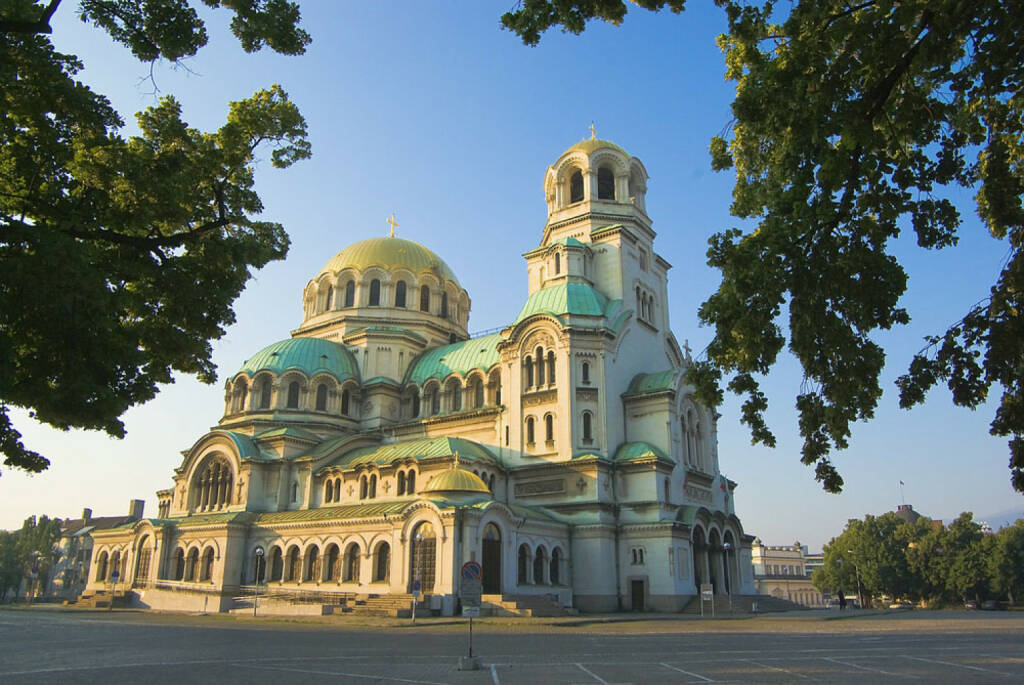 Sofia, Bulgarien,Alexander Nevsky Kathedrale,  http://www.shutterstock.com/de/pic-14209960/stock-photo-alexander-nevsky-cathedral-sofia-bulgaria.html, © shutterstock.com (04.08.2014)