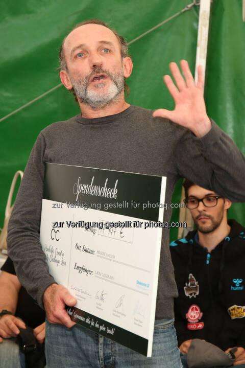 Karl Markovics, Pöndorfer Country Charity Challenge (PCCC). Wir helfen helfen! (C) Katharina Schiffl