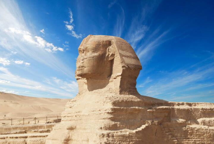 Sphinx, Ägypten, http://www.shutterstock.com/de/pic-206141080/stock-photo-sphinx-giza-egypt.html