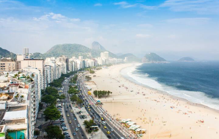 Rio de Janeiro, Brasilien, Copacabana, Strand, Meer, http://www.shutterstock.com/de/pic-129418865/stock-photo-brazil-rio-de-janeiro-the-famous-beach-of-copacabana.html
