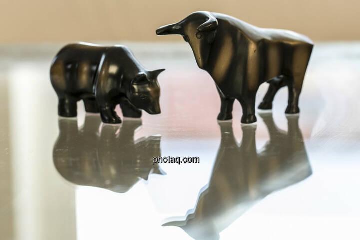 Bull & Bear (c) Martina Draper