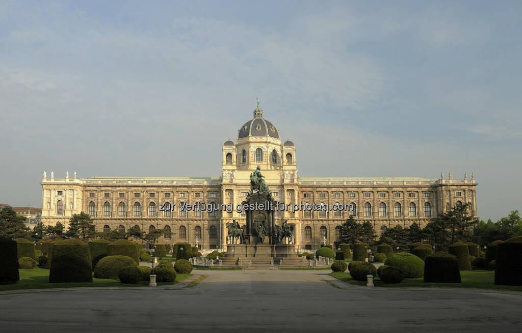 Naturhistorisches Museum: Am 10. August vor genau 125 Jahren - am 10.08.1889 - wurde das Naturhistorische Musem in Wien eröffnet (c) Kurt Kracher, © Aussender (06.08.2014)