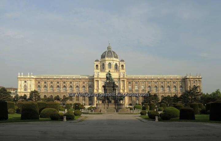 Naturhistorisches Museum: Am 10. August vor genau 125 Jahren - am 10.08.1889 - wurde das Naturhistorische Musem in Wien eröffnet (c) Kurt Kracher