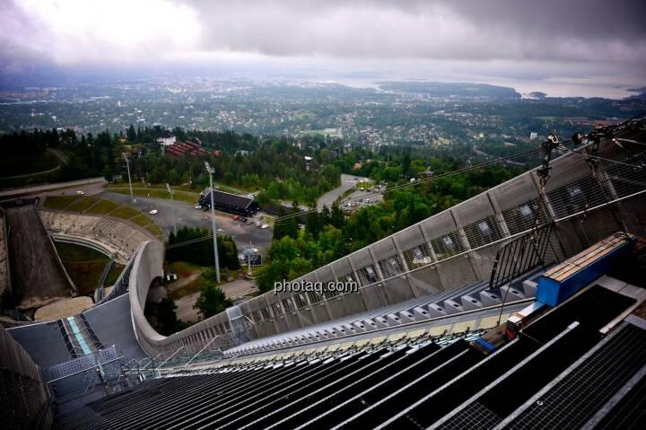 Holmenkollen, Zitterbalken, Oslo, Anlauf, Schanze