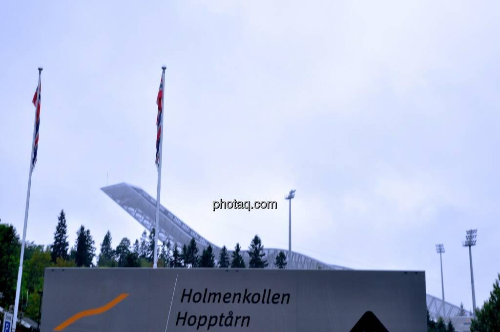Holmenkollen, Sprungturm, © photaq.com (08.08.2014)
