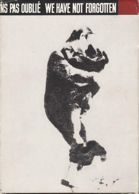 Tadeusz Mazur, Jerzy Tomaszewski, Stanislaw Wrzos-Glinka (editors) - We Have Not Forgotten 1939-1945, Polonia Publishing House, 1959, Cover  - http://josefchladek.com/book/tadeusz_mazur_jerzy_tomaszewski_stanislaw_wrzos-glinka_editors_-_we_have_not_forgotten_1939-1945, © (c) josefchladek.com (09.08.2014)