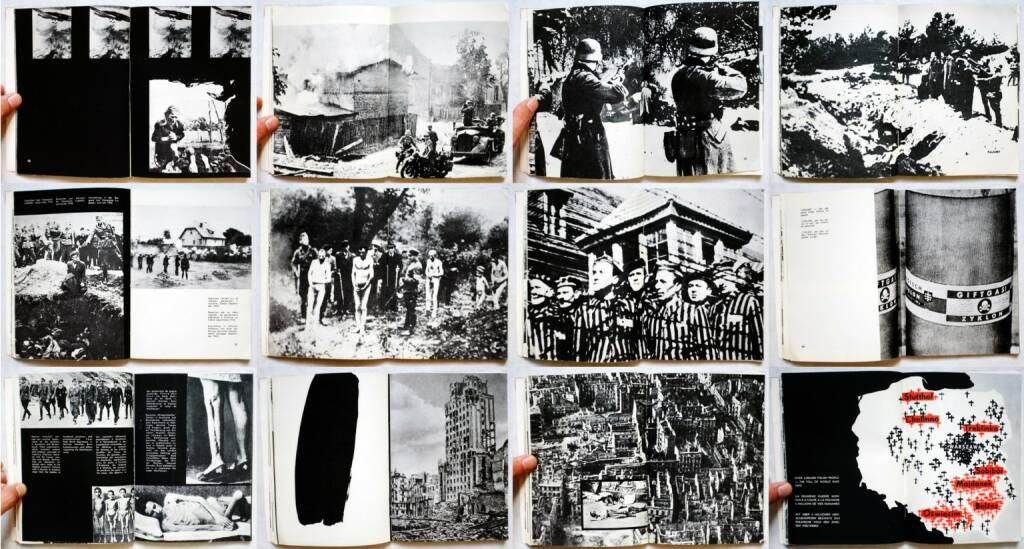 Tadeusz Mazur, Jerzy Tomaszewski, Stanislaw Wrzos-Glinka (editors) - We Have Not Forgotten 1939-1945, Polonia Publishing House, 1959, Beispielseiten, sample spreads  - http://josefchladek.com/book/tadeusz_mazur_jerzy_tomaszewski_stanislaw_wrzos-glinka_editors_-_we_have_not_forgotten_1939-1945, © (c) josefchladek.com (09.08.2014)