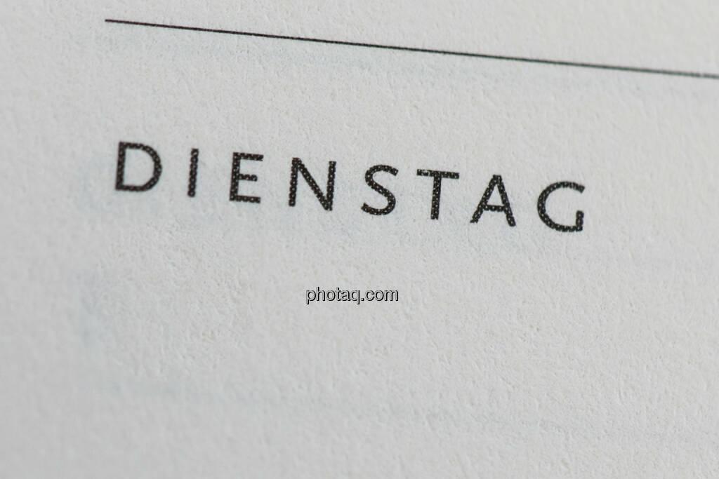 Dienstag, © photaq/Martina Draper (09.08.2014)