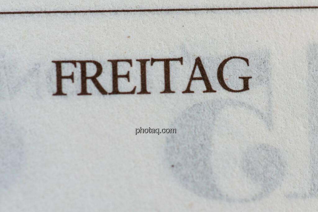 Freitag, © photaq/Martina Draper (09.08.2014)