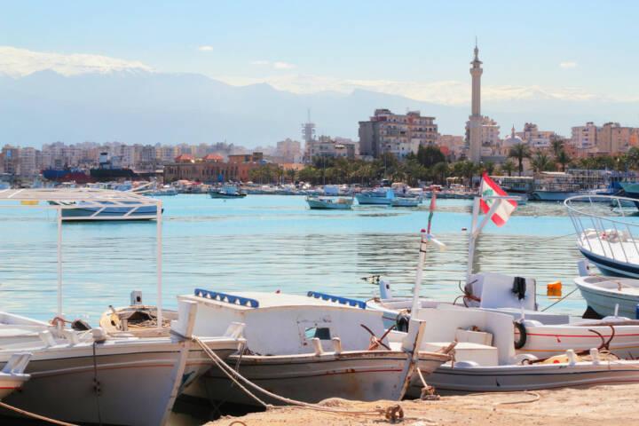 Tripolis, Libanon, http://www.shutterstock.com/de/pic-126744632/stock-photo-sea-port-tripoli-lebanon.html