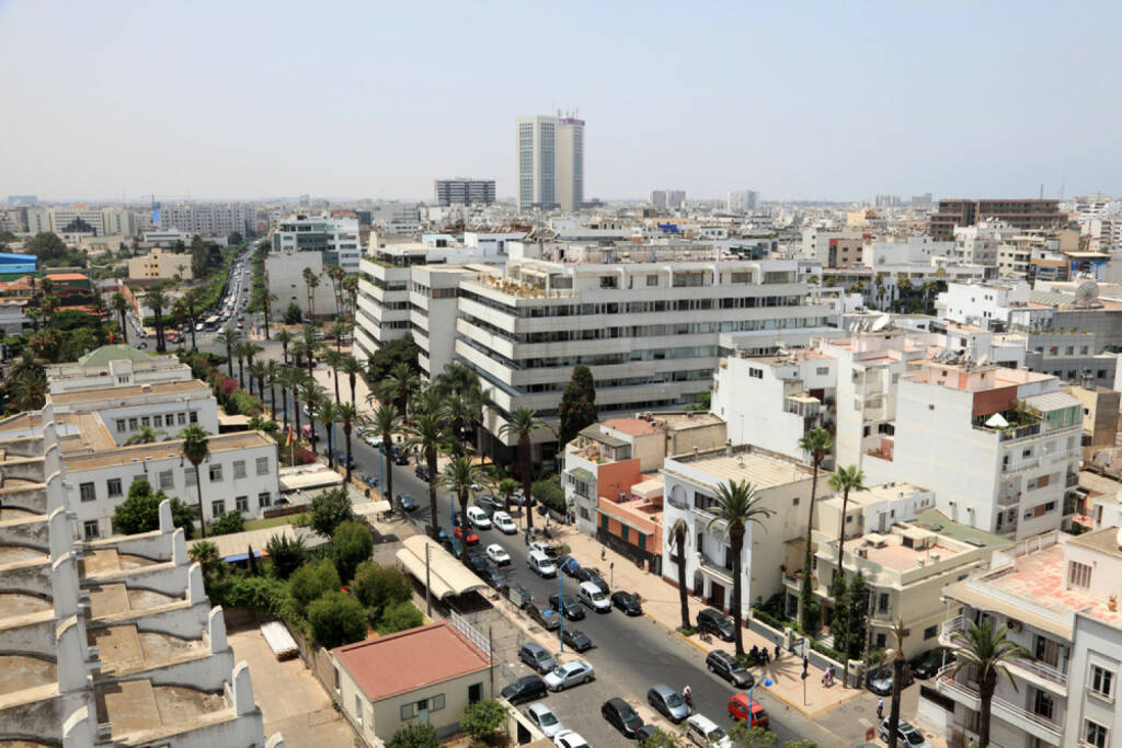 Casablanca, Marokko, http://www.shutterstock.com/de/pic-151391468/stock-photo-view-over-the-city-of-casablanca-morocco.html, © (www.shutterstock.com) (11.08.2014)