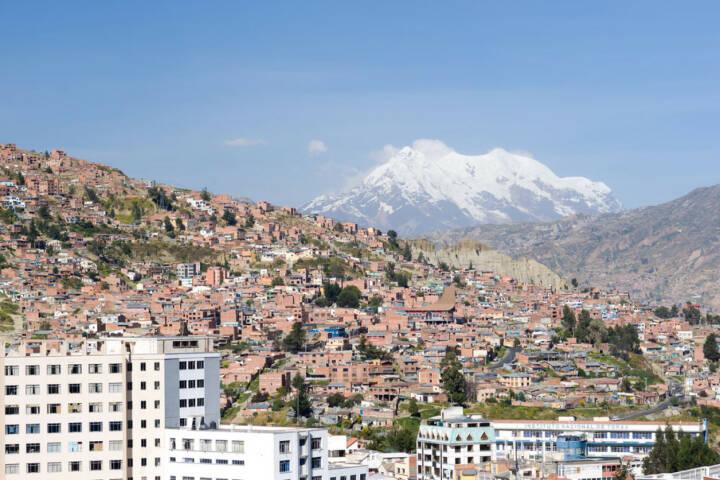 La Paz, Bolivien, http://www.shutterstock.com/de/pic-110991587/stock-photo-this-image-shows-la-paz-bolivia.html
